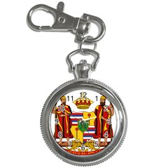 Kingdom Of Hawaii Coat Of Arms, 1795 1850 Key Chain Watches by abbeyz71