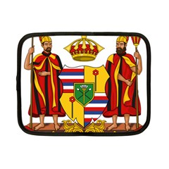 Kingdom Of Hawaii Coat Of Arms, 1795 1850 Netbook Case (small)