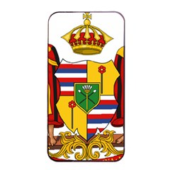 Kingdom Of Hawaii Coat Of Arms, 1795 1850 Apple Iphone 4/4s Seamless Case (black) by abbeyz71