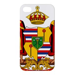 Kingdom Of Hawaii Coat Of Arms, 1795 1850 Apple Iphone 4/4s Hardshell Case by abbeyz71