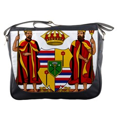 Kingdom Of Hawaii Coat Of Arms, 1795 1850 Messenger Bags by abbeyz71