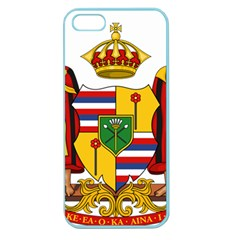 Kingdom Of Hawaii Coat Of Arms, 1795 1850 Apple Seamless Iphone 5 Case (color) by abbeyz71