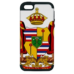 Kingdom Of Hawaii Coat Of Arms, 1795 1850 Apple Iphone 5 Hardshell Case (pc+silicone) by abbeyz71