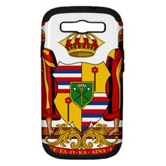 Kingdom Of Hawaii Coat Of Arms, 1795 1850 Samsung Galaxy S Iii Hardshell Case (pc+silicone) by abbeyz71