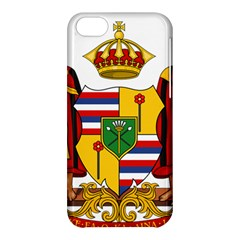 Kingdom Of Hawaii Coat Of Arms, 1795 1850 Apple Iphone 5c Hardshell Case by abbeyz71
