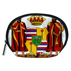 Kingdom Of Hawaii Coat Of Arms, 1795 1850 Accessory Pouches (medium)  by abbeyz71