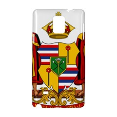 Kingdom Of Hawaii Coat Of Arms, 1795 1850 Samsung Galaxy Note 4 Hardshell Case by abbeyz71