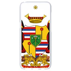 Kingdom Of Hawaii Coat Of Arms, 1795 1850 Samsung Galaxy S8 White Seamless Case by abbeyz71
