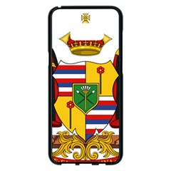 Kingdom Of Hawaii Coat Of Arms, 1795 1850 Samsung Galaxy S8 Plus Black Seamless Case by abbeyz71