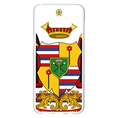 Kingdom Of Hawaii Coat Of Arms, 1795 1850 Samsung Galaxy S8 Plus White Seamless Case by abbeyz71