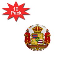 Kingdom Of Hawaii Coat Of Arms, 1850 1893 1  Mini Magnet (10 Pack)  by abbeyz71