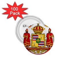 Kingdom Of Hawaii Coat Of Arms, 1850 1893 1 75  Buttons (100 Pack)  by abbeyz71