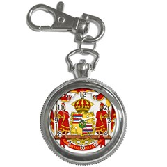 Kingdom Of Hawaii Coat Of Arms, 1850 1893 Key Chain Watches by abbeyz71