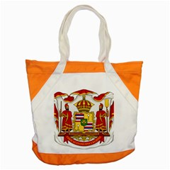 Kingdom Of Hawaii Coat Of Arms, 1850 1893 Accent Tote Bag by abbeyz71