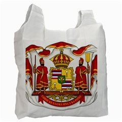 Kingdom Of Hawaii Coat Of Arms, 1850 1893 Recycle Bag (one Side) by abbeyz71