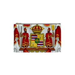 Kingdom Of Hawaii Coat Of Arms, 1850 1893 Cosmetic Bag (small)  by abbeyz71