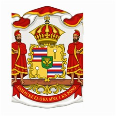 Kingdom Of Hawaii Coat Of Arms, 1850 1893 Large Garden Flag (two Sides) by abbeyz71