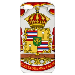 Kingdom Of Hawaii Coat Of Arms, 1850 1893 Apple Iphone 5 Hardshell Case by abbeyz71