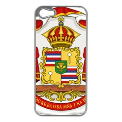 Kingdom Of Hawaii Coat Of Arms, 1850 1893 Apple Iphone 5 Case (silver) by abbeyz71