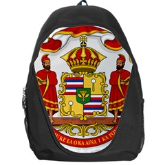 Kingdom Of Hawaii Coat Of Arms, 1850 1893 Backpack Bag by abbeyz71