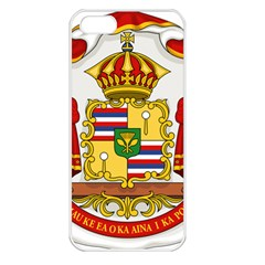 Kingdom Of Hawaii Coat Of Arms, 1850 1893 Apple Iphone 5 Seamless Case (white) by abbeyz71