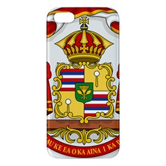 Kingdom Of Hawaii Coat Of Arms, 1850 1893 Apple Iphone 5 Premium Hardshell Case by abbeyz71