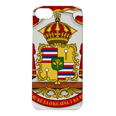 Kingdom Of Hawaii Coat Of Arms, 1850 1893 Apple Iphone 5s/ Se Hardshell Case by abbeyz71