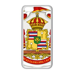 Kingdom Of Hawaii Coat Of Arms, 1850 1893 Apple Iphone 5c Seamless Case (white) by abbeyz71