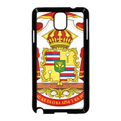 Kingdom Of Hawaii Coat Of Arms, 1850 1893 Samsung Galaxy Note 3 Neo Hardshell Case (black) by abbeyz71