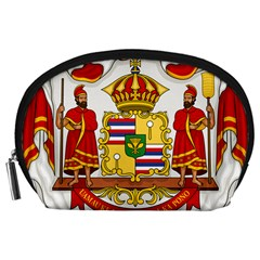 Kingdom Of Hawaii Coat Of Arms, 1850 1893 Accessory Pouches (large)  by abbeyz71