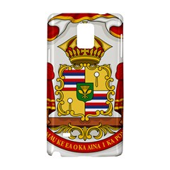 Kingdom Of Hawaii Coat Of Arms, 1850 1893 Samsung Galaxy Note 4 Hardshell Case by abbeyz71