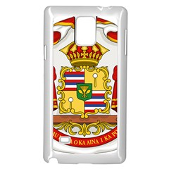 Kingdom Of Hawaii Coat Of Arms, 1850 1893 Samsung Galaxy Note 4 Case (white) by abbeyz71