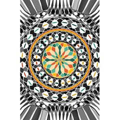 High Contrast Mandala 5 5  X 8 5  Notebooks by linceazul