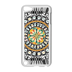 High Contrast Mandala Apple Ipod Touch 5 Case (white) by linceazul