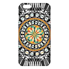 High Contrast Mandala Iphone 6 Plus/6s Plus Tpu Case by linceazul