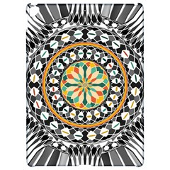 High Contrast Mandala Apple Ipad Pro 12 9   Hardshell Case by linceazul