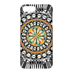 High Contrast Mandala Apple Iphone 7 Plus Hardshell Case by linceazul