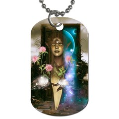 The Wonderful Women Of Earth Dog Tag (one Side) by FantasyWorld7