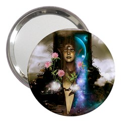 The Wonderful Women Of Earth 3  Handbag Mirrors by FantasyWorld7