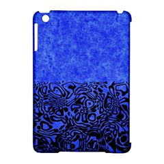 Modern Paperprint Blue Apple Ipad Mini Hardshell Case (compatible With Smart Cover) by MoreColorsinLife