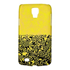 Modern Paperprint Yellow Galaxy S4 Active by MoreColorsinLife