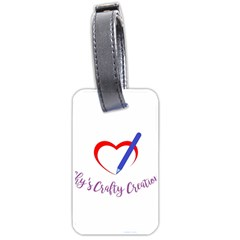 Chy s Crafty Creations 1503679013450 Luggage Tags (one Side)  by chyscraftycreations