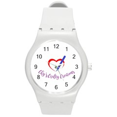 Chy s Crafty Creations 1503679013450 Round Plastic Sport Watch (m) by chyscraftycreations