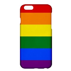 Pride Flag Apple Iphone 6 Plus/6s Plus Hardshell Case by Valentinaart