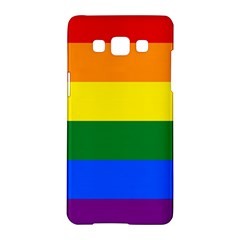 Pride Flag Samsung Galaxy A5 Hardshell Case  by Valentinaart