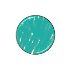 Background Green Abstract Hat Clip Ball Marker (4 Pack) by Nexatart