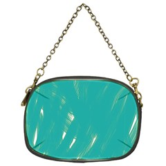 Background Green Abstract Chain Purses (one Side)  by Nexatart