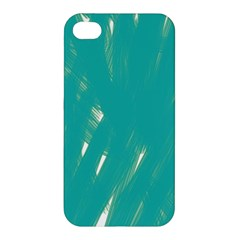 Background Green Abstract Apple Iphone 4/4s Premium Hardshell Case by Nexatart