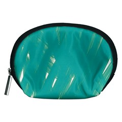 Background Green Abstract Accessory Pouches (medium)