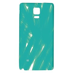 Background Green Abstract Galaxy Note 4 Back Case by Nexatart